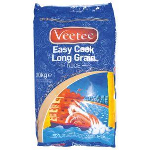 Veetee Easy Cook Long Grain Rice-1x20kg