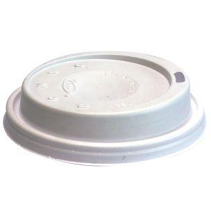 Dart 10oz Domed Cappuccino Lids-(10EL)-1x1000
