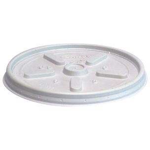 Dart 10oz Flat Cup Lids (10JLPF) 1x1000