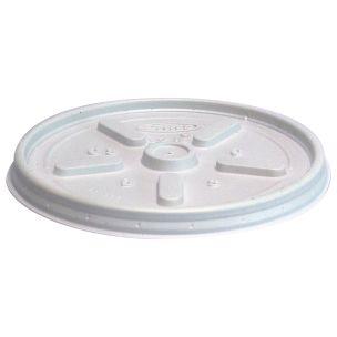 Dart 12oz Flat Cup Lids (12JLPF) 1x1000