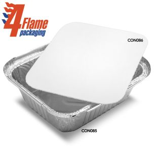 4Flame No:2 Poly Container Lids-1x1000