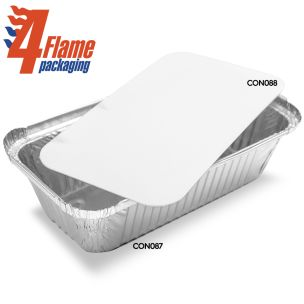 4Flame No:6A Poly Container Lids-1x500