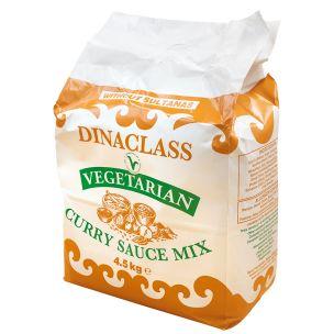 Dinaclass Vegeterian Curry Sauce Mix-1x4.5kg