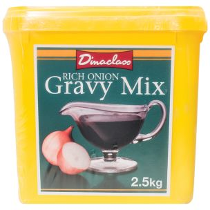 Dinaclass Rich Onion Gravy Mix-2x2.5kg