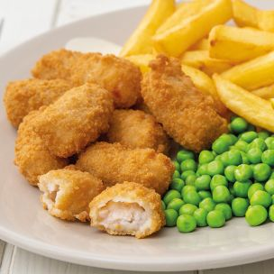 JJ Wholetail Breaded Scampi-(Red Tape)-1x454g