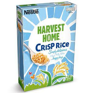 Nestle Harvest Home Crisp Rice 6x550g