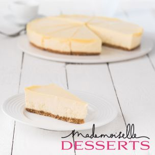 Mademoiselle Deep & Creamy Cheesecake (Pre-portioned x 12) -1x1.76kg
