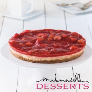Mademoiselle Strawberry Cheesecake (uncut) -1x1.2kg