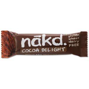 Nakd Cocoa Delight Gluten Free Bar-18x35g