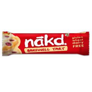 Nakd Bakewell Tart Gluten Free Bar 18x35g
