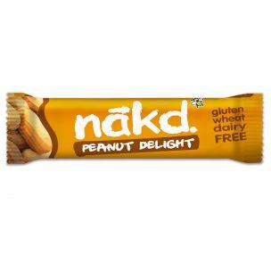 Nakd Peanut Delight Gluten Free Bar 18x35g