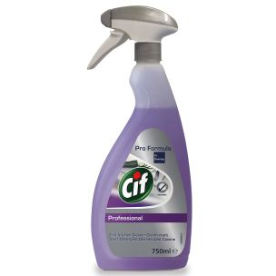 Cif 2in 1 Kitchen Cleaner Disinfectant-1x750ml