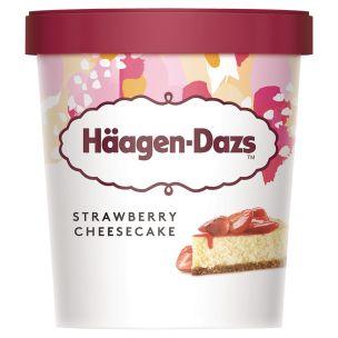 Haagen Dazs Strawberry Cheesecake Ice Cream-8x460ml