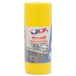 JJ 30 Multi Purpose Cloth On A Roll Yellow-1x1