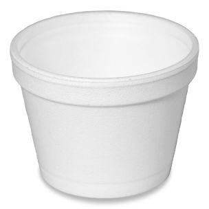 Dart 4oz Polystyrene Cups (No Lids)(4J6)-1x1000
