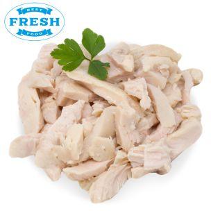 JJ Chilled Halal Cooked Chicken Strips-1x2.5kg