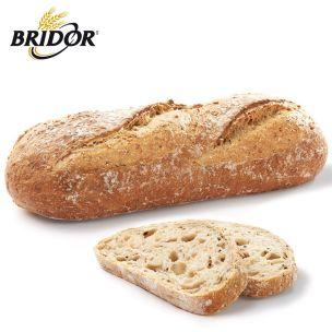 Bridor Stone Part Baked Sourdough Cereals & Grains Loaf Bread (Frozen) -18x400g