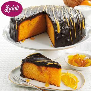 Sidoli Sticky Chocolate & Orange Cake(14 Portions)-1x1.9kg