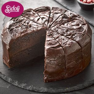 Sidoli Vegan Devils Food Cake (14 Portions)-1x2.1kg