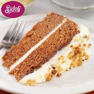 Sidoli Gluten Free Carrot Cake 14 Portions-1x1.7kg