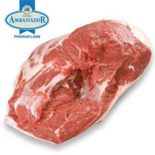 Ambassador Frozen Halal Boneless Lamb Leg (Price Per Kg) Box. Approx. 20kg