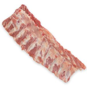 Food Family Frozen Raw Pork Belly Spare Ribs-1x10kg