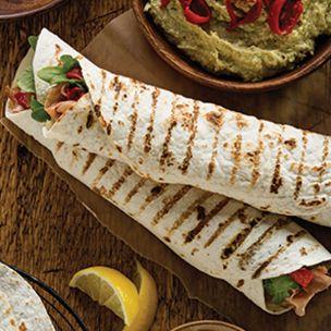 "Mission Foods 12"" Bar Marked Tortilla-4x18"