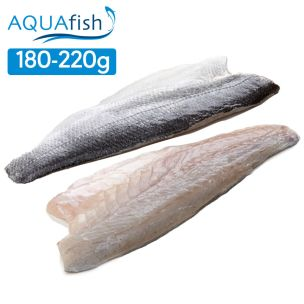 Aquafish IQF Sea Bass Fillets (180-220g)-1x1kg