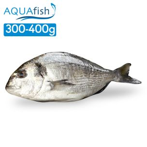 Aquafish IQF Whole Sea Bream Gilled & Gutted (300-400g)-1x1kg