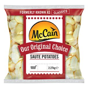 McCain Original Choice Saute Potatoes-1x2.27kg