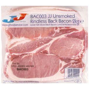 JJ Rindless Back Bacon 1x2kg