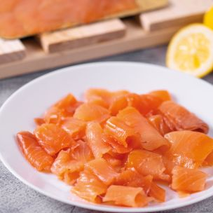 Coln Valley Long Sliced Smoked Salmon-1x454g