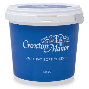 Croxton Full Fat Soft Cream Cheese-1x1.5kg