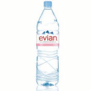 Evian Still Mineral Water-8x1.5L
