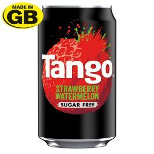 Tango Sugar Free Strawberry and Watermelon Cans-(GB)-24x330ml
