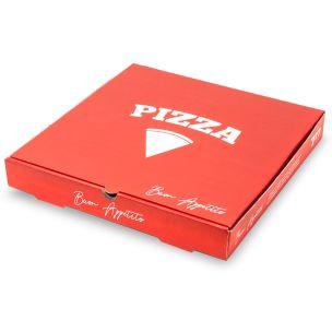 "7"" Premium Full Colour Pizza Boxes-1x100"