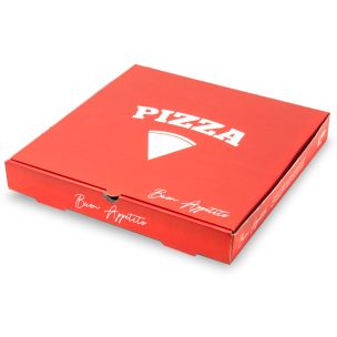 "12"" Premium Full Colour Pizza Boxes-1x100"