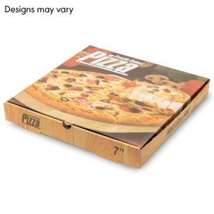 "7"" Full Colour Pizza Boxes-1x100"