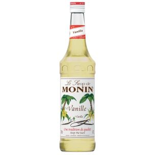 Monin Vanilla Syrup (Glass Bottle)-1x70cl