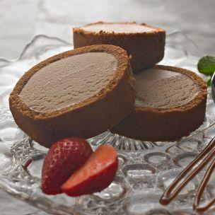 Cool Delight Chocolate Ice Cream Sponge Roll-3x500g