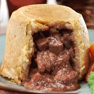 The Great British Steak & Kidney Puddings-6x370g