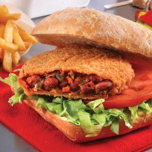 KaterVeg Spicy Bean Burger (Breaded)-24x100g