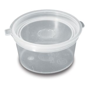 4oz Hinged Sauce Container-1x500