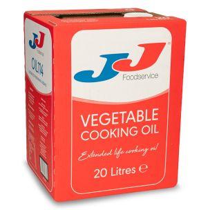 JJ Vegetable Cooking Oil (BIB) 1x20L