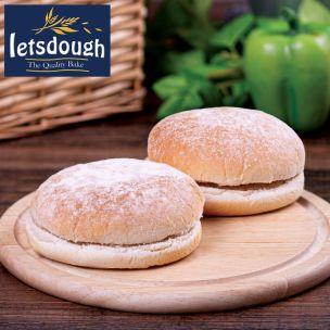 "Letsdough 5"" Sandwich Floured Baps-48x86g"