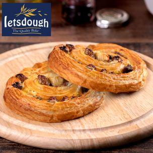 Letsdough Ready to Bake All Butter Pain aux Raisins-60x110g