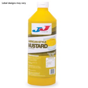 JJ SQ-easy American Mild Mustard (Bottle)-6x1L
