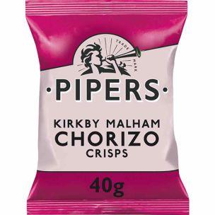Pipers Chorizo 24x40g