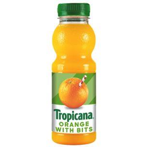 Tropicana Original Orange Juice (With Bits)-8x250ml