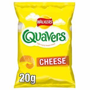 Walkers Quavers Cheese Snacks-32x20g